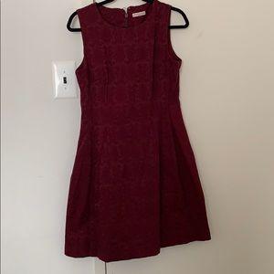 Eva Mendes Brocade Maria Dress